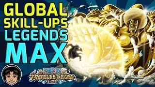 getlinkyoutube.com-Double Skill-Ups - Getting Legends MAX! [One Piece Treasure Cruise]