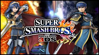 getlinkyoutube.com-Super Smash Bros. for 3DS - shofu (Lucina) vs. False (Marth)