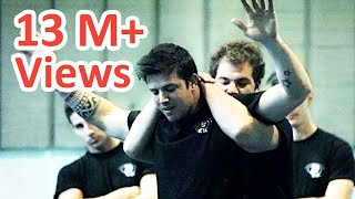 getlinkyoutube.com-KRAV MAGA TRAINING • How to escape the Full Nelson
