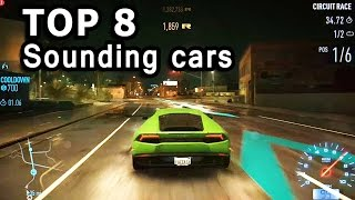 getlinkyoutube.com-NFS 2015 - Top 8 Best Engine Sound Cars
