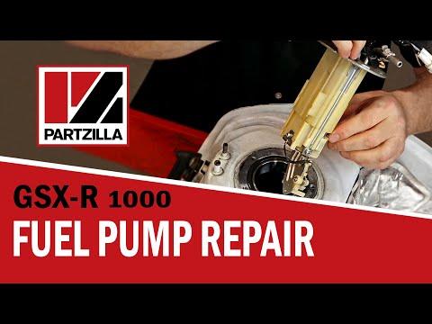GSXR Fuel Pump Repair | Suzuki GSX-R1000 | Partzilla.com