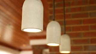 getlinkyoutube.com-DIY Concrete Pendant Lights