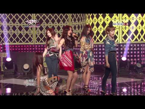 4minute - Volume Up(120504 KBS Music Bank)