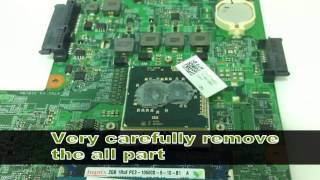 getlinkyoutube.com-Dell inspiron N5010 laptop powers on but no display