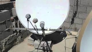 getlinkyoutube.com-طريقة إستقبال 8 اقمار Nilesat+hotbird+astra+bader+Eutelsat. W3+arabsat