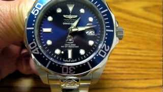 getlinkyoutube.com-Invicta Grand Diver 3045 Automatic Watch with Seiko NH35A Movement