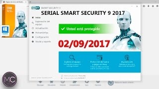 getlinkyoutube.com-Serial para eset smart security 9 2017