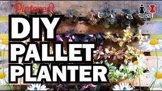 getlinkyoutube.com-DIY Pallet Planter, Corinne VS Pin #34