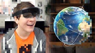 getlinkyoutube.com-So funktionieren die Hologramme von Microsoft! (Hololens VR Brille) - felixba
