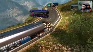 getlinkyoutube.com-EuroTruck Simulator 2 | Rutas Mortales Cap 16 | Español