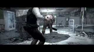 getlinkyoutube.com-The Evil Within chapter 1 kill chainsaw with knife (AKUMU)