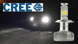 getlinkyoutube.com-First LED Car Headlights Kit with active fan cooling