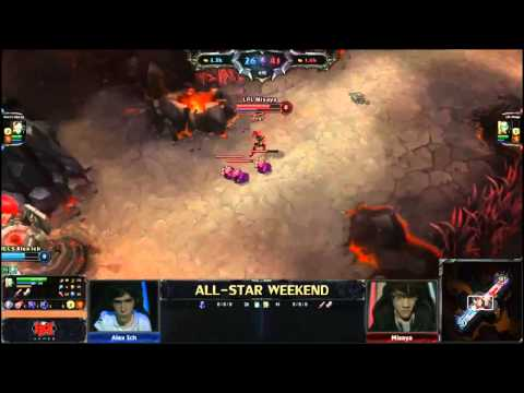 Alex Ich vs. Missaya - All Stars Mid Laners matchup - League of Legends