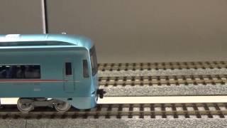 getlinkyoutube.com-小田急ロマンスカーMSE 鉄道模型連結シーン