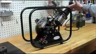 getlinkyoutube.com-Stirling Engine SV2 MKII by Kirk Engines, Inc.