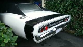 getlinkyoutube.com-Dodge Charger 1968 440ci cold start - Fabulous sound