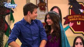 getlinkyoutube.com-Girl Meets World - Riley and Lucas Totes Cute Moment - Disney Channel UK HD