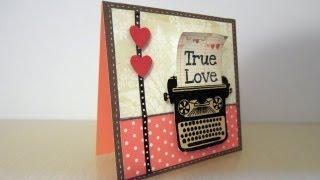 getlinkyoutube.com-Tarjeta para San Valentín. Tutorial Scrapbook
