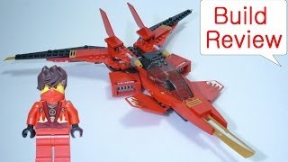 getlinkyoutube.com-레고 스톱모션 닌자고 Lego Ninjago 70721  Kai Fighter - Build Review