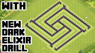 getlinkyoutube.com-CLASH OF CLANS - TH7 HYBRID BASE BEST TOWN HALL 7 Defense With NEW DARK ELIXIR DRILL
