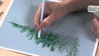 Colored Pencil Techniques: Easy Landscape Painting (Preview)