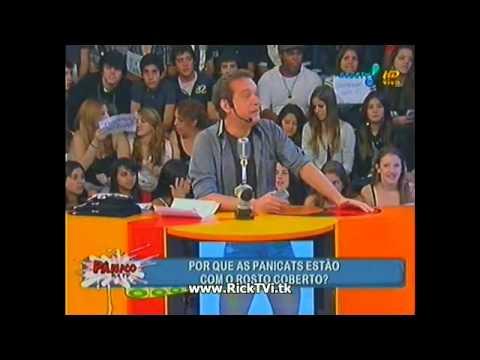 (1/4) - Pânico na TV - 28/08/11 - A traiçao das panicats - Punição das Panicats