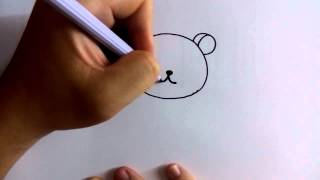 getlinkyoutube.com-สอนวาดการ์ตูน ริลัคคุมะ Rilakkuma ง่ายๆ หัดวาดตามได้