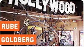 getlinkyoutube.com-Insane Ball Maze   Rube Goldberg's Maze Runner
