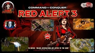 CnC Red Alert 3 Rising Sun Campaign Co-op Level 6 Commentary HD