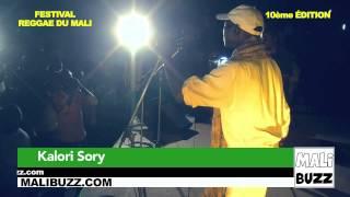 Louanzé - Kalori Sory au Festival Reggae du Mali 2015
