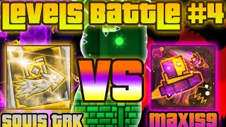 getlinkyoutube.com-LEVELS BATTLE #4 - SoulsTRK VS Maxis9 (3 levels) 100% GAMEPLAY Online