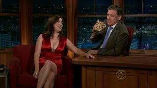 getlinkyoutube.com-Late Late Show with Craig Ferguson 11/8/2011 Jennifer Tilly, Lawrence Block