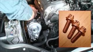 getlinkyoutube.com-Mercedes W211 CDI 220 - Turbocharger