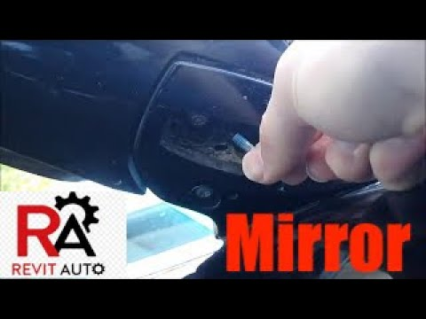 Lexus RX350 Loose Side View Mirror Fix (Rear Mirror)