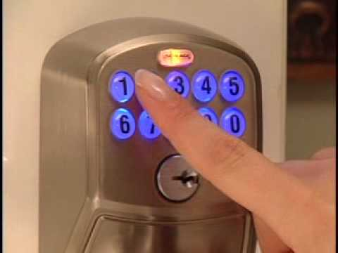 Programming Your FE595 Keypad Entry Lock