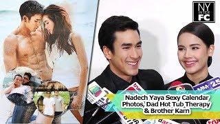getlinkyoutube.com-[ENG SUB] Nadech Yaya - Sexy Calendar Photos, Dad Hot Tub Therapy & Brother Karn | ThaiCh8 6/12/16