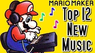 getlinkyoutube.com-Super Mario Maker Top 12 New MUSIC Courses (Wii U)