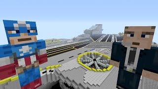 getlinkyoutube.com-Minecraft Xbox - Survival Madness Adventures - Captain America The First Avenger [305]