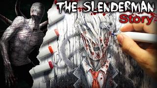 """Silence in the Rain"" (Slenderman) STORY - Creepypasta + Drawing"