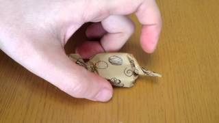 getlinkyoutube.com-かわいい生チョコのラッピング ①キャンディー包み  卵・乳・小麦不使用 アレルギー対応お菓子教室