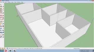 getlinkyoutube.com-SketchUp #21 - Small House - Floors and Walls - Brooke Godfrey