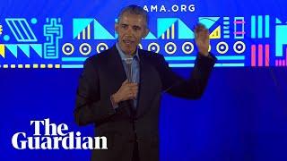 Barack Obama calls for more women in politics