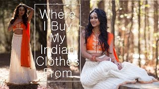 getlinkyoutube.com-Where I Get My Indian Outfits From, Custom Made + Store Bought | Makeup By Megha