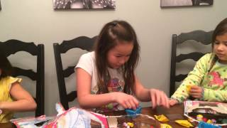 getlinkyoutube.com-We Found 2 Limited Edition Shopkins in 6 Packs! Quest for Cupcake Queen Disney Frozen Toys Elsa Pt 3