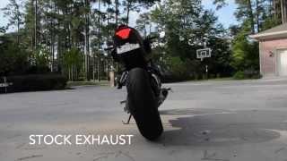 getlinkyoutube.com-Yamaha FZ-07 M4 Exhaust