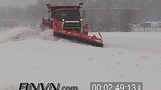 getlinkyoutube.com-Various snow plow and snow clean up video - Part 2
