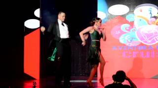 Fausto Felix & Isabel Freiberger at Aventura Dance Cruise 2014