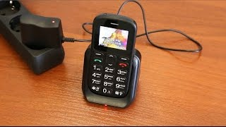 getlinkyoutube.com-Обзор мобильного телефона Vertex C305 с крупными кнопками