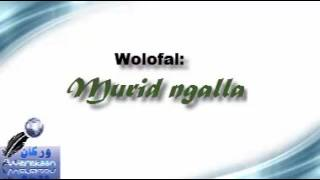 Muriid ngalla wolofalu sëriñ muussa ka
