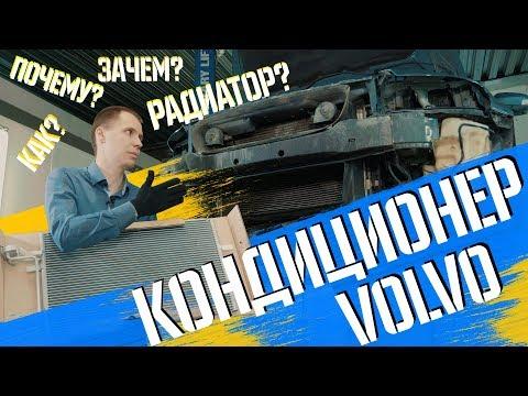 Кондиционер Volvo I Как это работает и что бывает с радиатором кондиционера Volvo s40?
